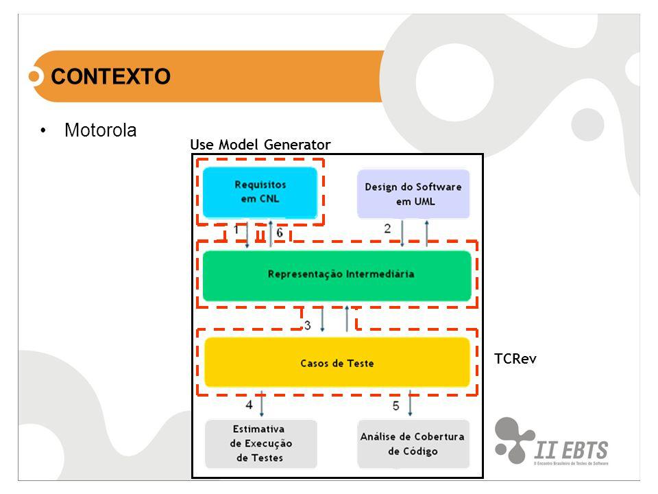 Motorola Use Model Generator TCRev
