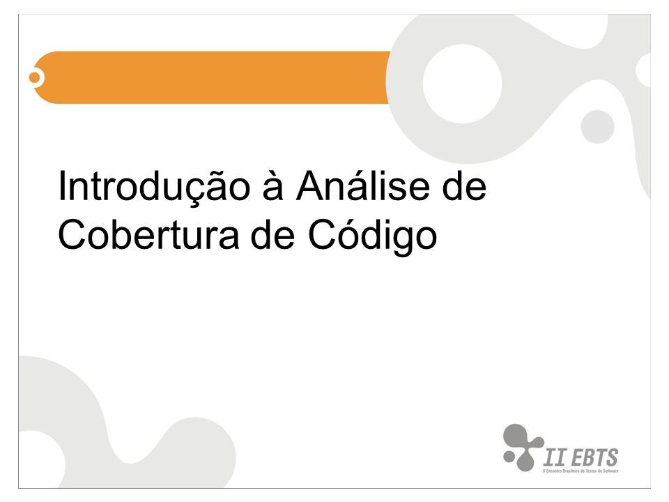 Introdução à Análise de Cobertura de Código
