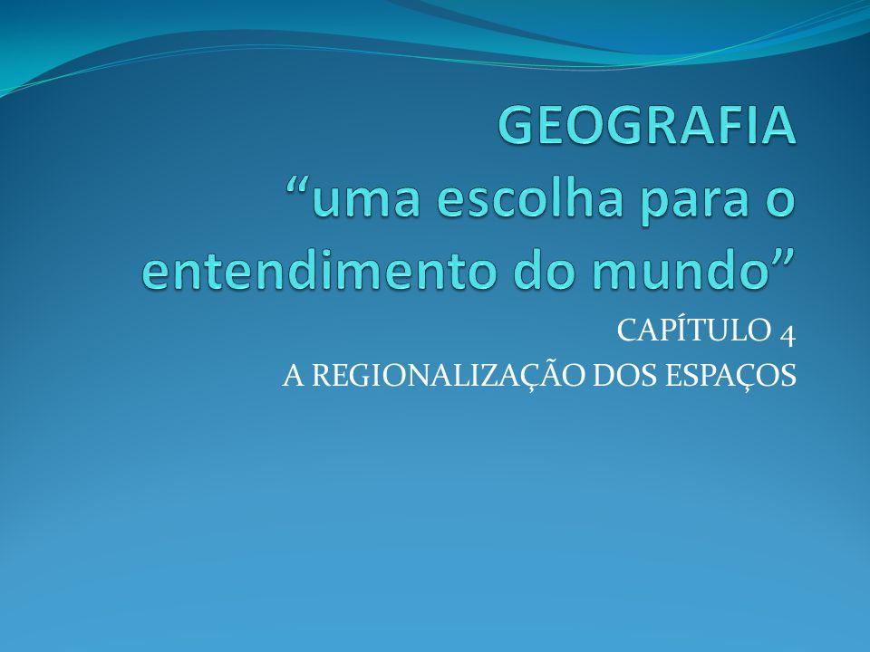 CRITÉRIOS Organização socioeconômica Nível de desenvolvimento econômico TRÊS MUNDOS