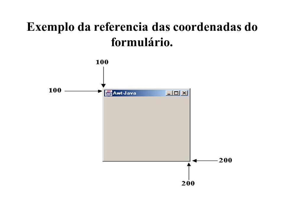 Exemplo da referencia das coordenadas do formulário.
