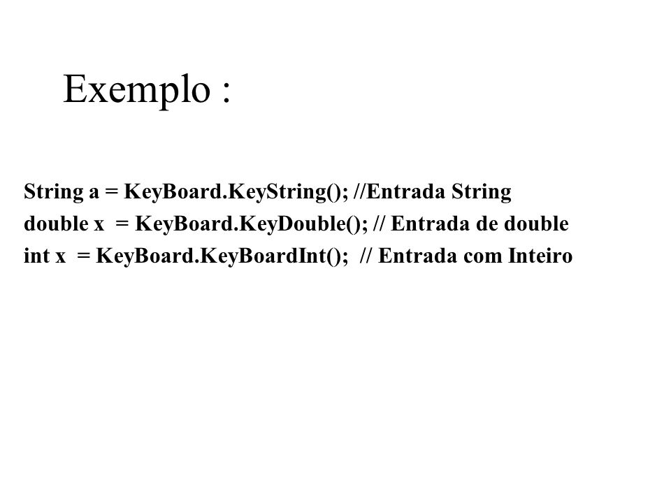 Encapsulamento : Saída Nome Endereco Classe getNome() => Maria getEndereco() => Barão,34 getNome() getEndereco()
