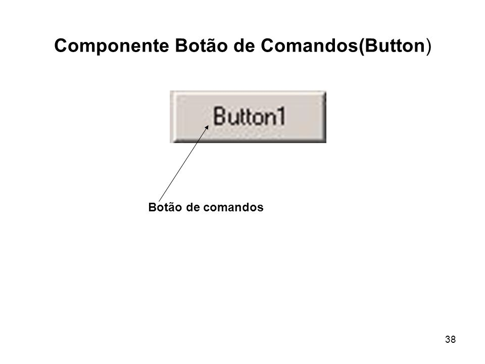 38 Componente Botão de Comandos(Button) Botão de comandos