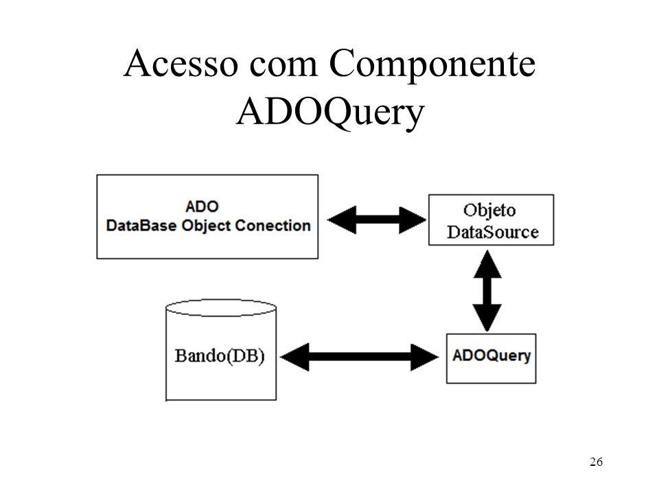 Acesso com Componente ADOQuery 26