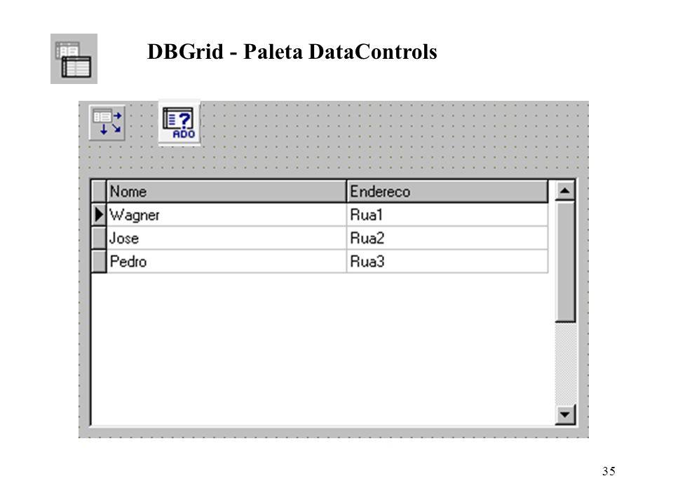 DBGrid - Paleta DataControls 35