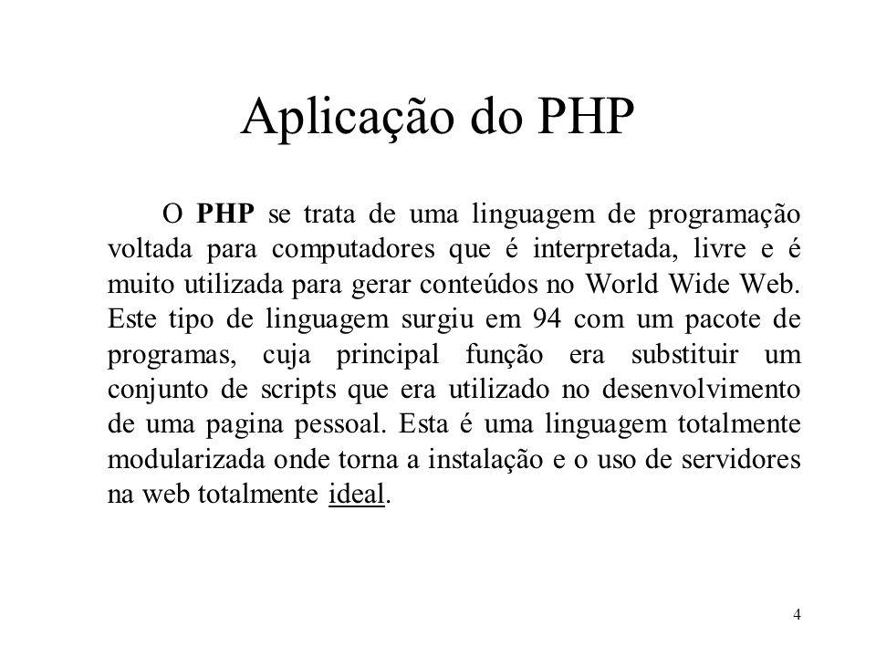 Exemplo programa (html) Entre com número: 75