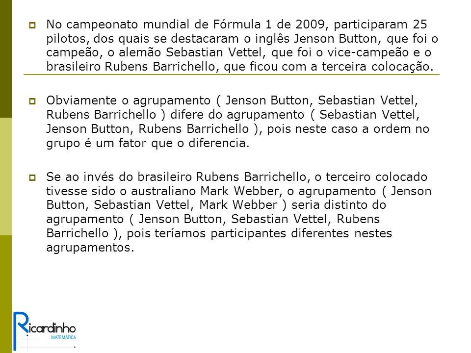 No campeonato mundial de Fórmula 1 de 2009, participaram 25 pilotos, dos quais se destacaram o inglês Jenson Button, que foi o campeão, o alemão Sebastian Vettel, que foi o vice-campeão e o brasileiro Rubens Barrichello, que ficou com a terceira colocação.