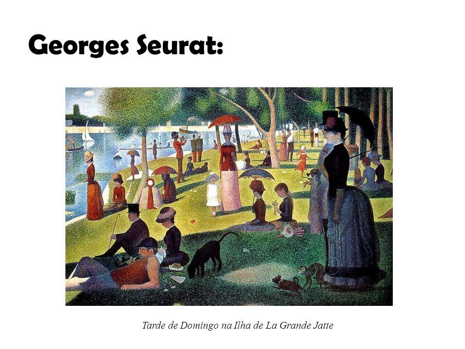 Georges Seurat: Tarde de Domingo na Ilha de La Grande Jatte