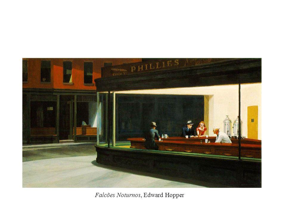 Falcões Noturnos, Edward Hopper