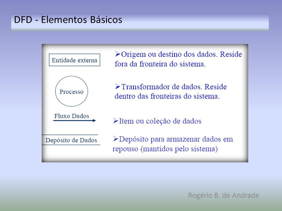 DFD - Elementos Básicos Rogério B. de Andrade