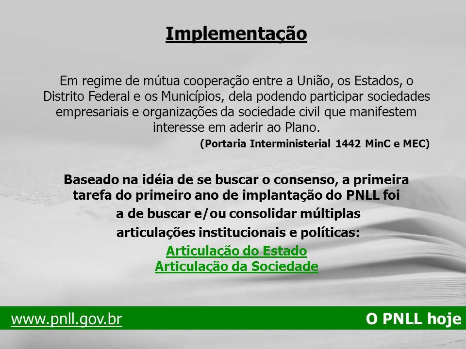 Implementação Em regime de mútua cooperação entre a União, os Estados, o Distrito Federal e os Municípios, dela podendo participar sociedades empresar