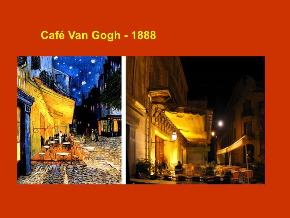 Café Van Gogh - 1888