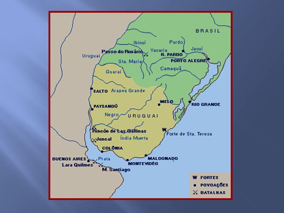 A guerra, apesar dos esforços dos mediadores da Inglaterra, terminou apenas em 1828 quando foi assinado um tratado de paz. A Cisplatina teve sua indep