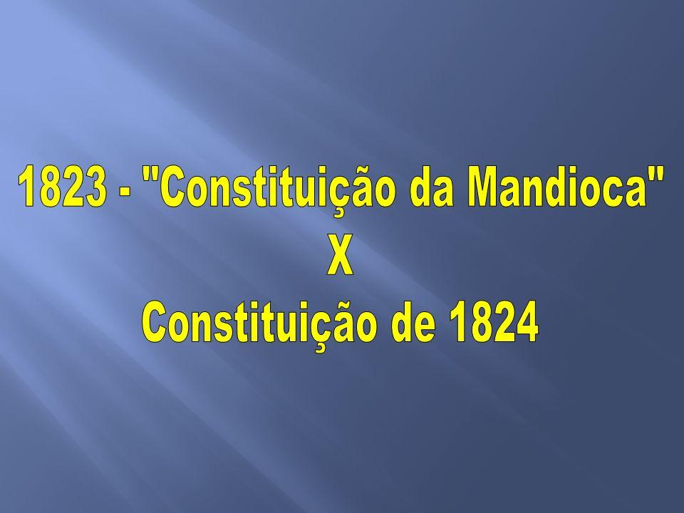 1º Reinado: a consolidação da independência -Coroação de D. Pedro I -Vencendo as resistências internas -Constituição de 1824 -Confederação do Equador