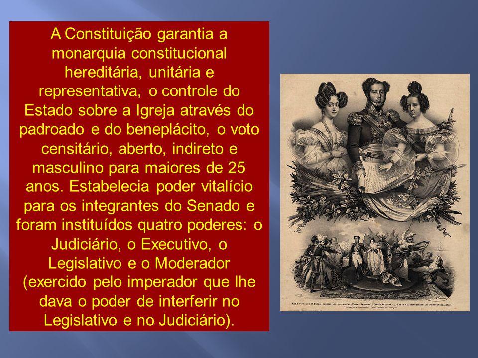 O imperador, pressionado por toda a situação - após um manifesto redigido por vinte e três deputados e pelo senador Vergueiro - nomeou, a 19 de março, um novo ministério formado por políticos mais liberais.