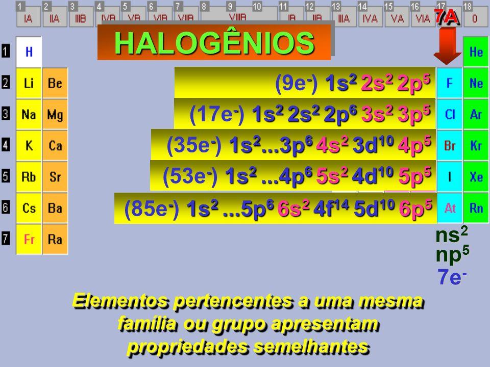 - 1s 2 2s 2 2p 4 (8e - ) 1s 2 2s 2 2p 4 - 1s 2 2s 2 2p 6 3s 2 3p 4 (16e - ) 1s 2 2s 2 2p 6 3s 2 3p 4 - 1s 2...4p 6 5s 2 4d 10 5p 4 (52e - ) 1s 2...4p