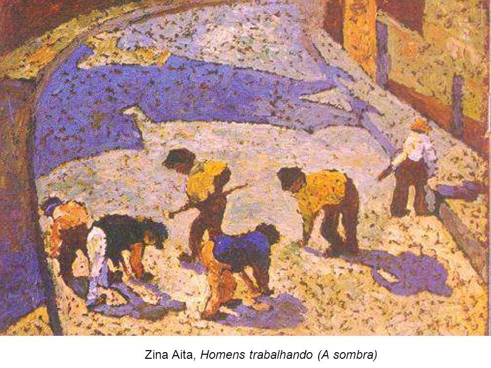 Zina Aita, Homens trabalhando (A sombra)
