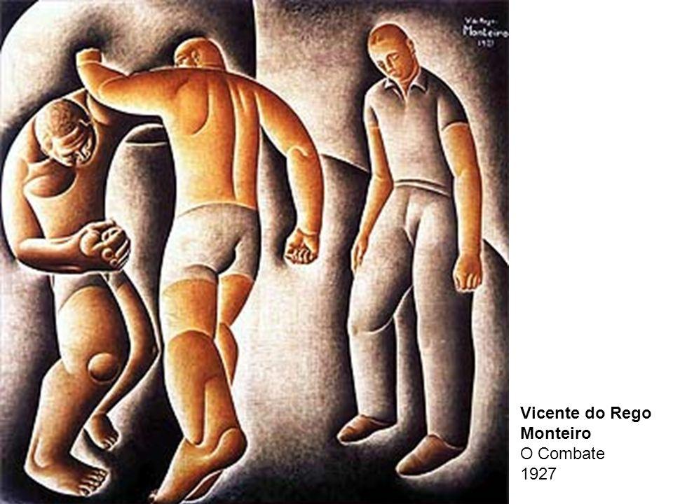 Vicente do Rego Monteiro O Combate 1927