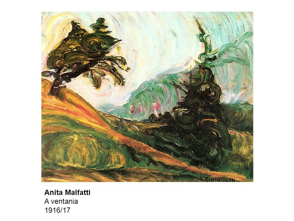 Anita Malfatti A ventania 1916/17