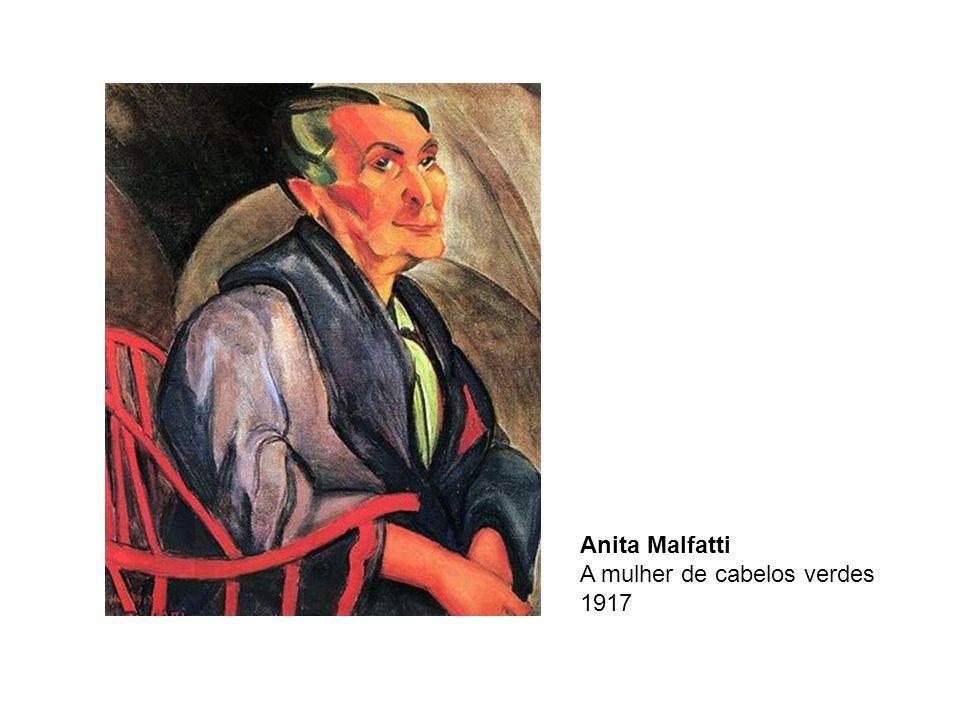 Anita Malfatti A mulher de cabelos verdes 1917