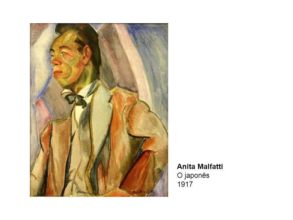 Anita Malfatti O japonês 1917