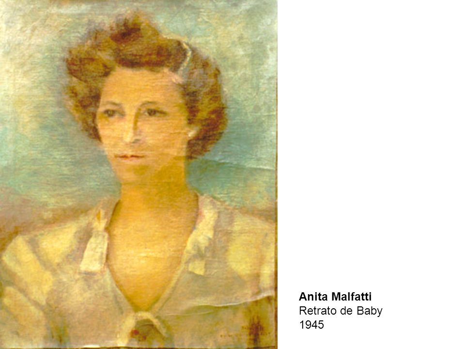 Anita Malfatti Retrato de Baby 1945
