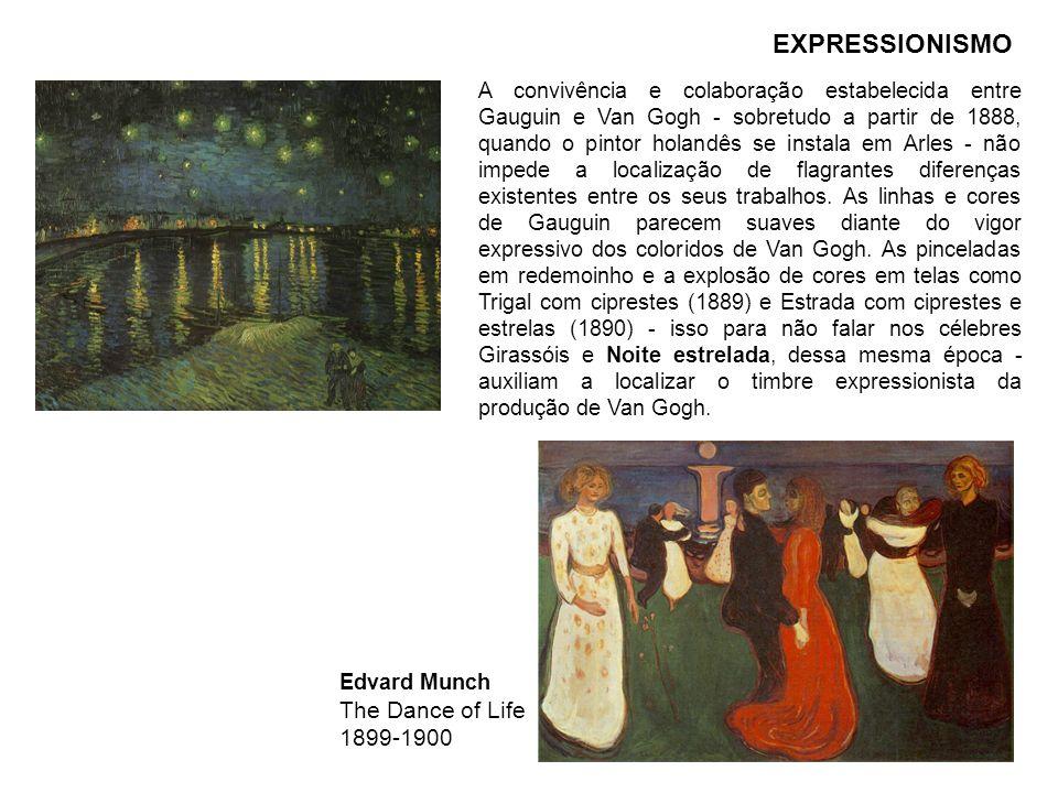 A convivência e colaboração estabelecida entre Gauguin e Van Gogh - sobretudo a partir de 1888, quando o pintor holandês se instala em Arles - não imp