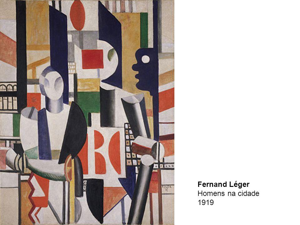 Fernand Léger Homens na cidade 1919