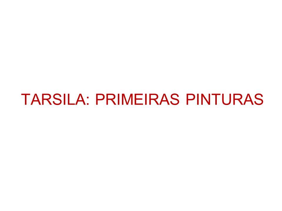 TARSILA: PRIMEIRAS PINTURAS