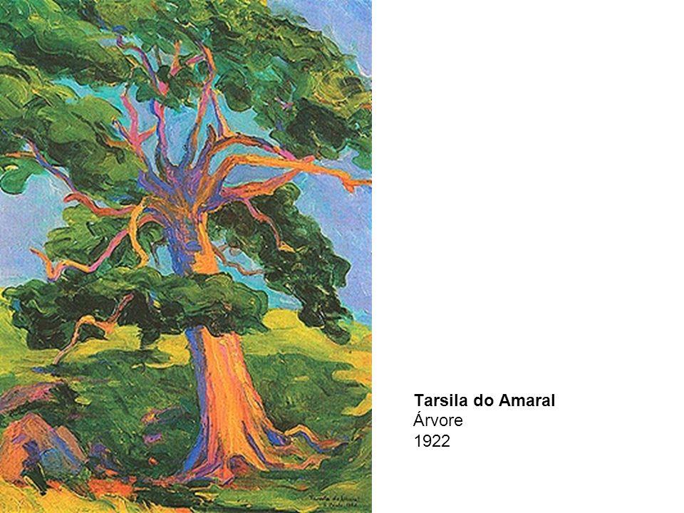 Tarsila do Amaral Árvore 1922