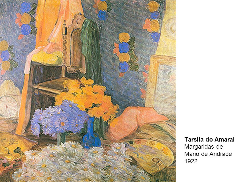 Tarsila do Amaral Margaridas de Mário de Andrade 1922