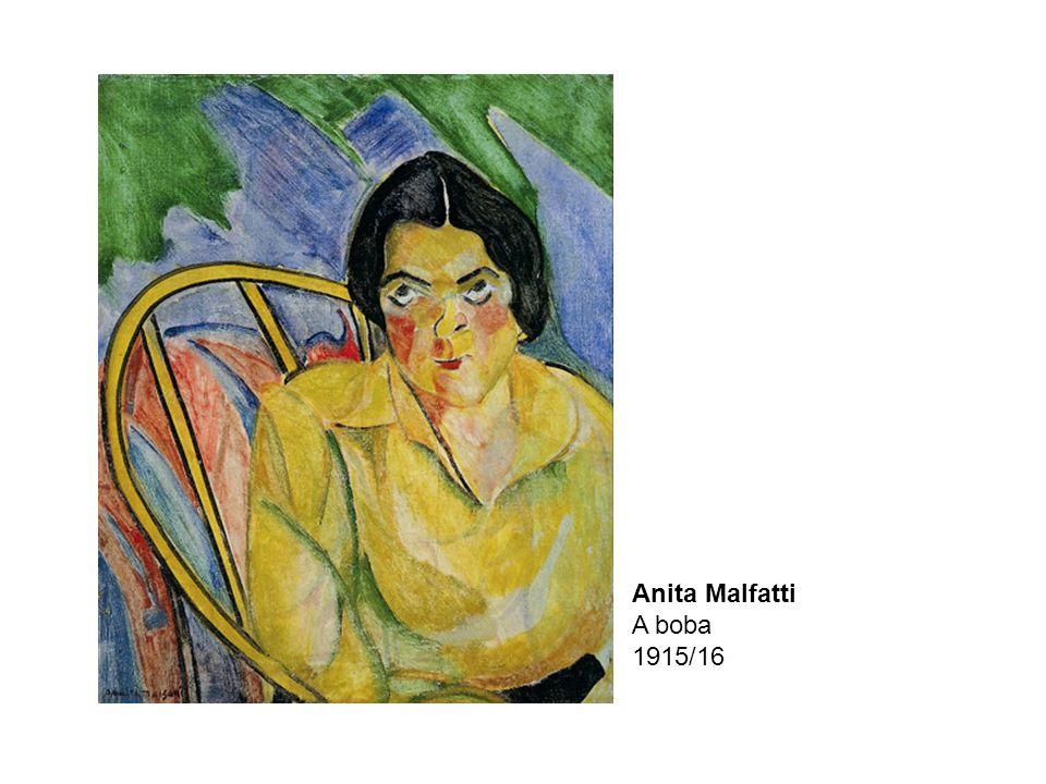 Anita Malfatti A boba 1915/16