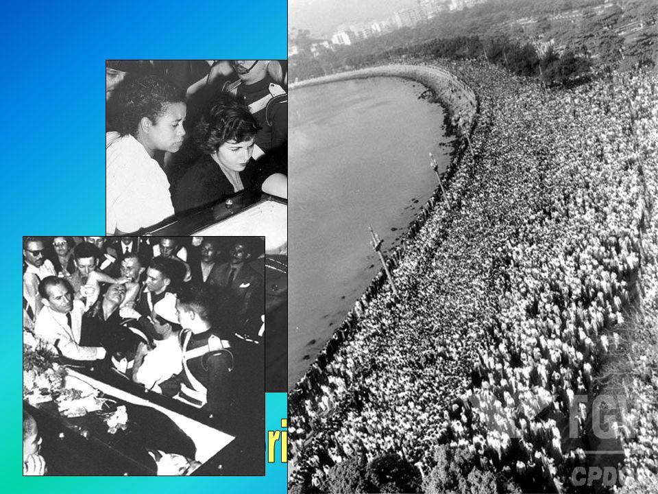 História Tentativa de golpe dos udenistas (com o apoio de Carlos Luz), que queriam impedir a posse de JK e Jango, por não terem conseguido a maioria absoluta de votos.
