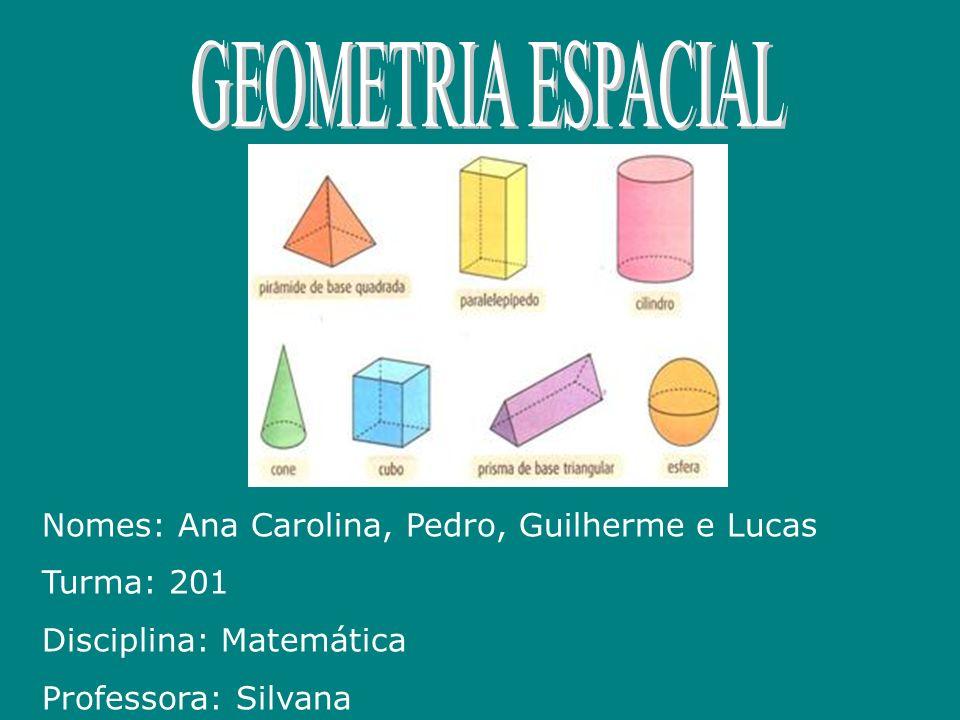 Nomes: Ana Carolina, Pedro, Guilherme e Lucas Turma: 201 Disciplina: Matemática Professora: Silvana