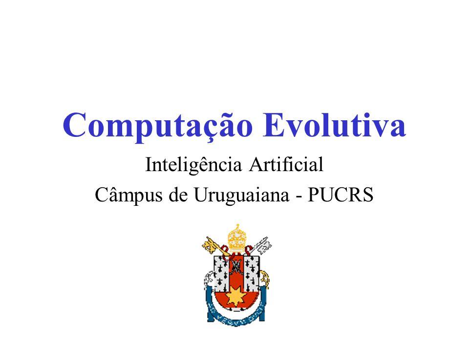 Computação Evolutiva Ramo da Ciência da Computação Computação Natural I.C.