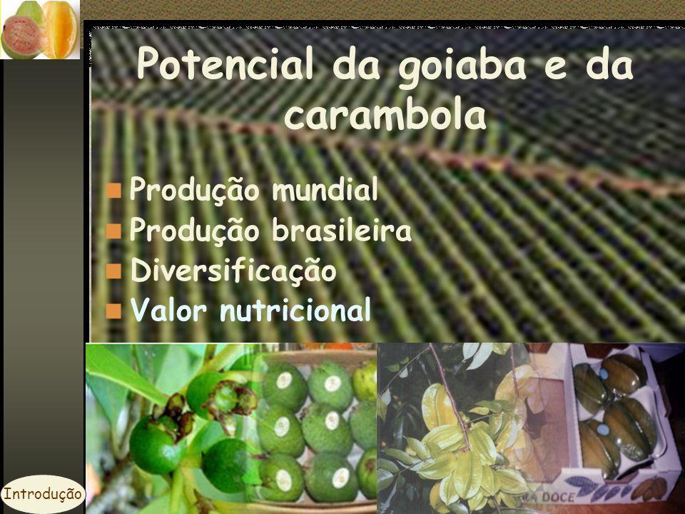 Acidez do solo Baixa produtividade Implantação do pomar Pesquisas em culturas perenes Introdução
