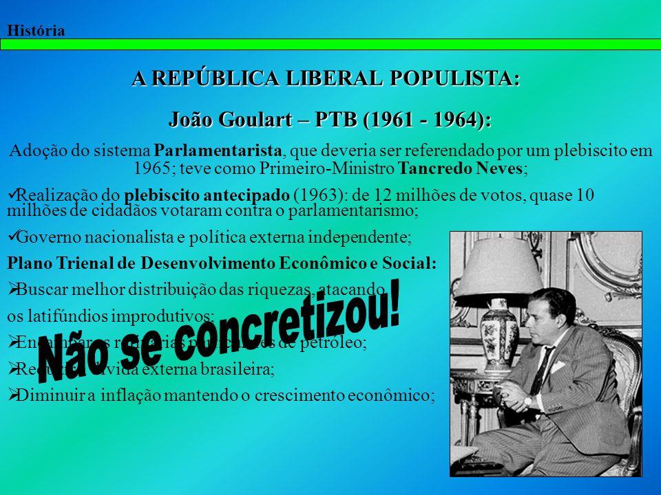 História A radicalização política: Comício da Central do Brasil no Rio de Janeiro (com a presença de 300 mil pessoas).