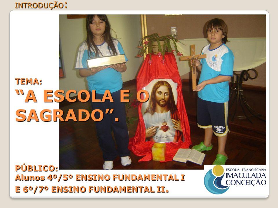 BIBLIOGRAFIA: BÍBLIA SAGRADA.(JESUS CRISTO) Livro: A PROTEÇÃO DO SAGRADO (ANSELM GRUN).