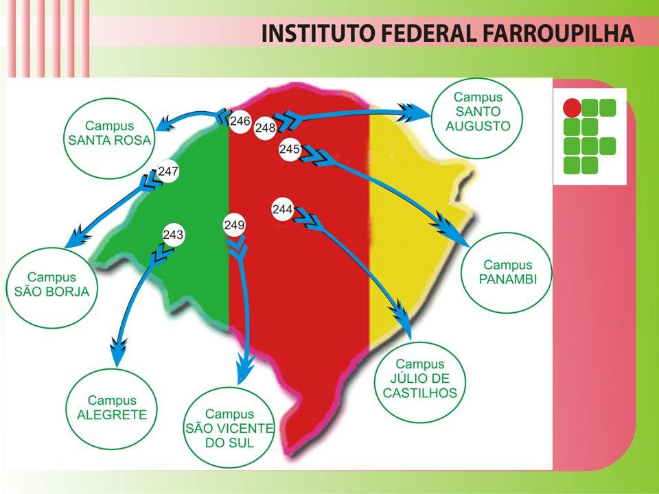 Instituto Federal Farroupilha - Campus Alegrete/RS VOCÊ FAZ PARTE DESTA HISTÓRIA! 1954 - 2011