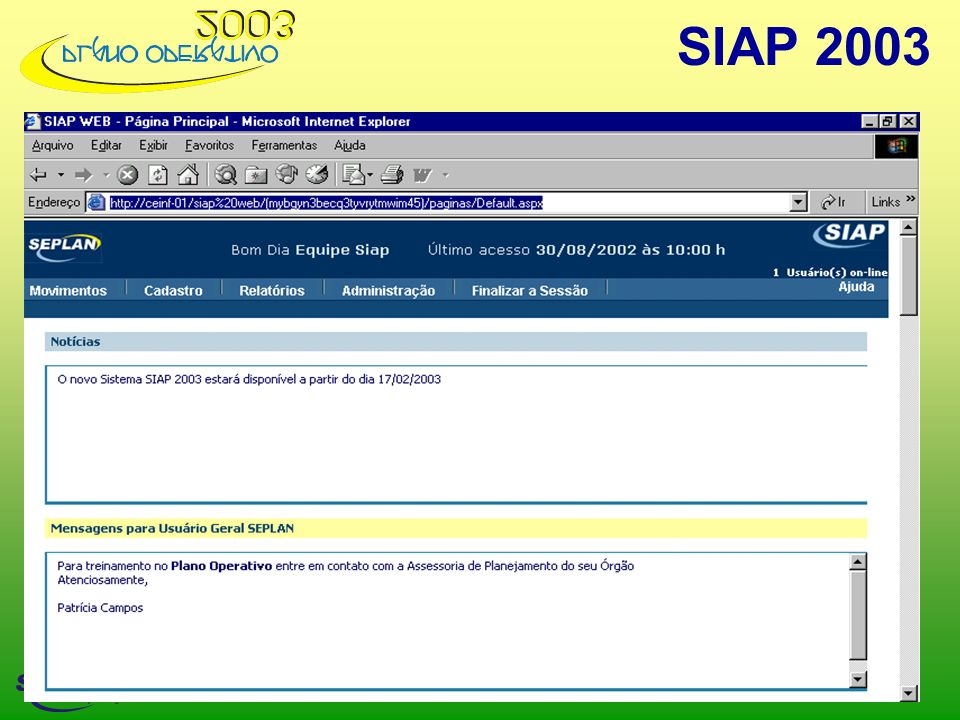 SIAP 2003