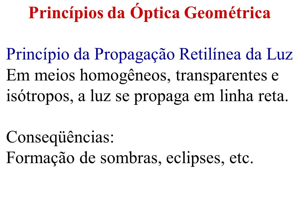 Opacos: não permitem a propagação da luz e, portanto, não permitem a visualização do objeto.