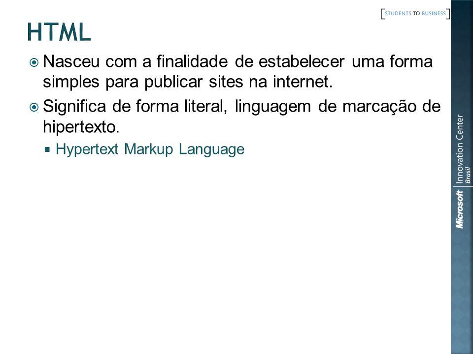 Componente Visual Visão de Design Visão de HTML Lógica de interface de usuário Class MeuWebForm Bem-Vindo.