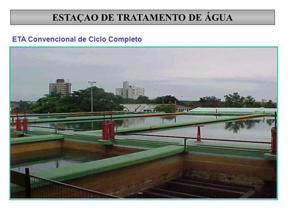 ESTAÇAO DE TRATAMENTO DE ÁGUA ETA Convencional de Ciclo Completo