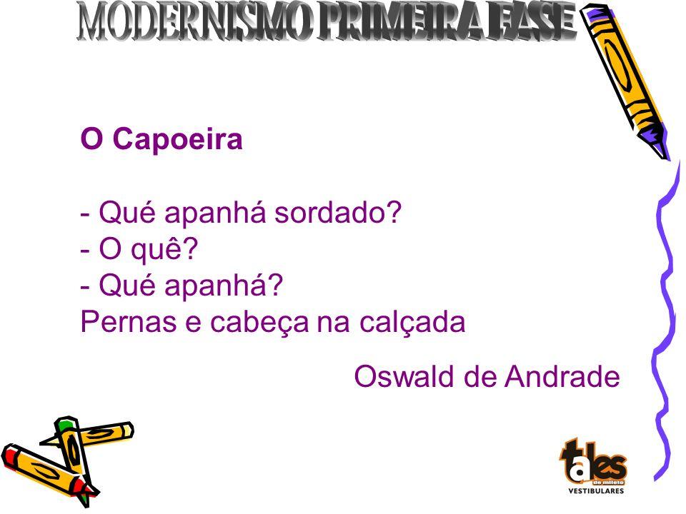 Oswald de Andrade por Tarsila do Amaral