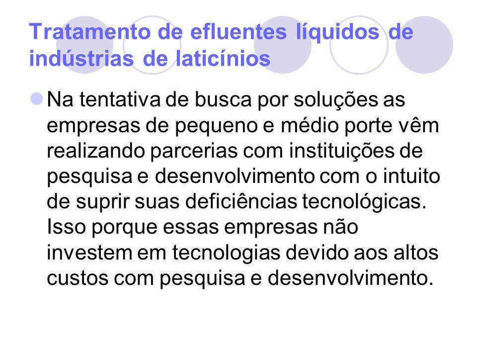 A geração de efluentes Os efluentes líquidos gerados no Laticínio abrangem os efluentes líquidos industriais, os esgotos sanitários e as águas pluviais captadas.