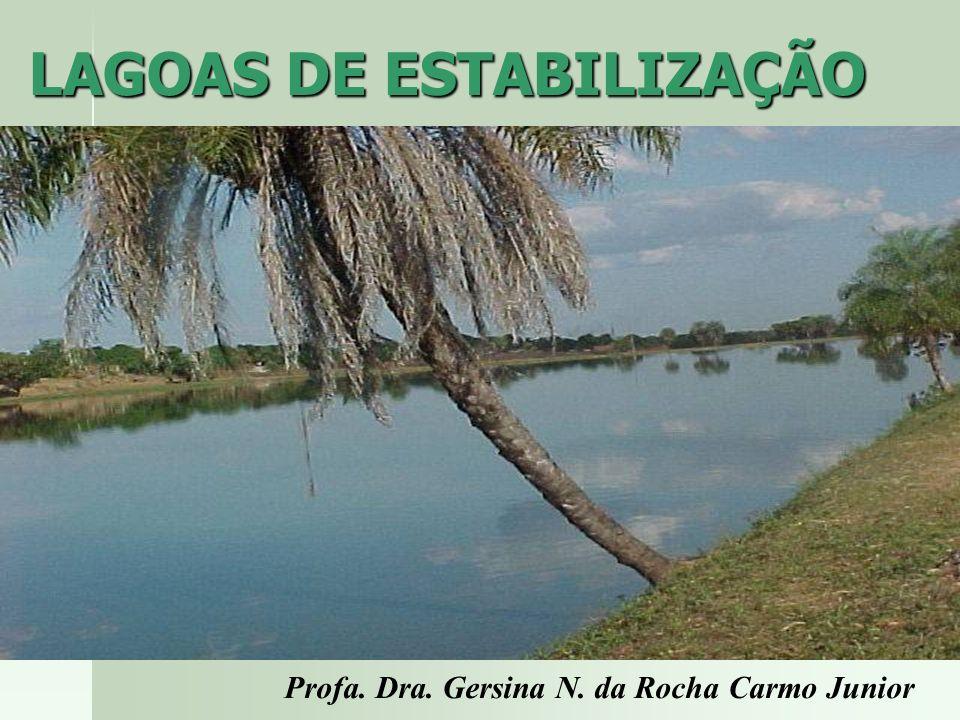 Profa. Dra. Gersina N. da Rocha Carmo Junior LAGOAS DE ESTABILIZAÇÃO Profa. Dra. Gersina N. da Rocha Carmo Junior