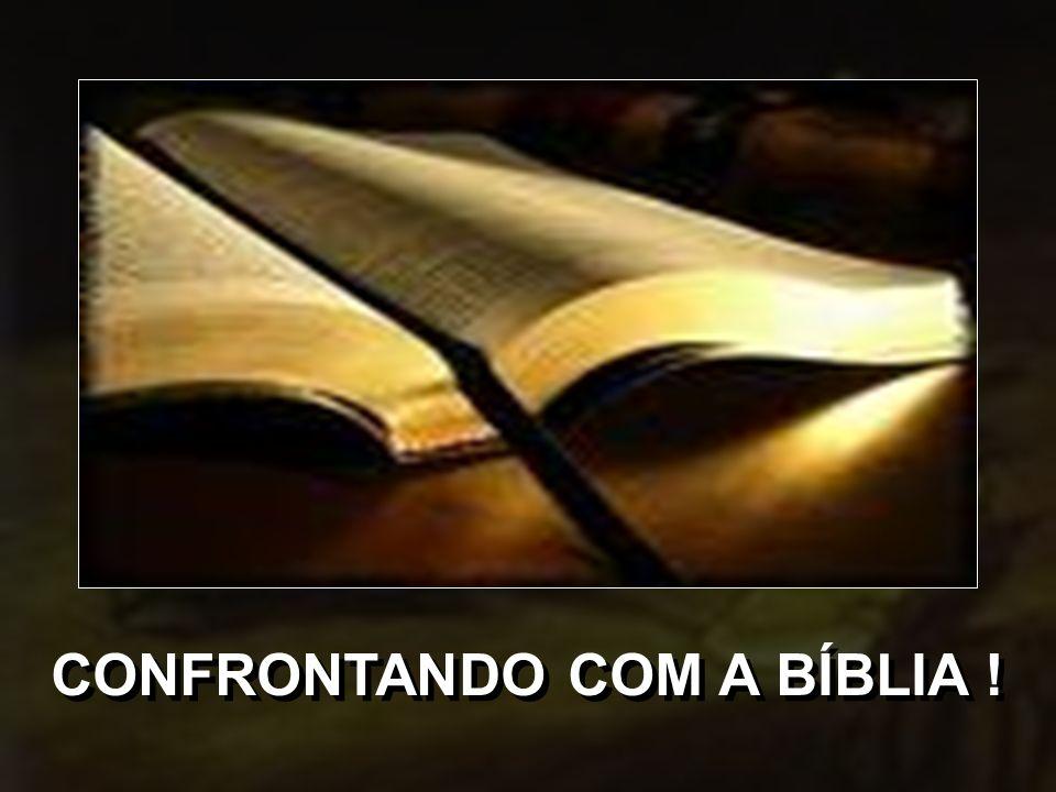 O QUE A BÍBLIA DIZ SOBRE...