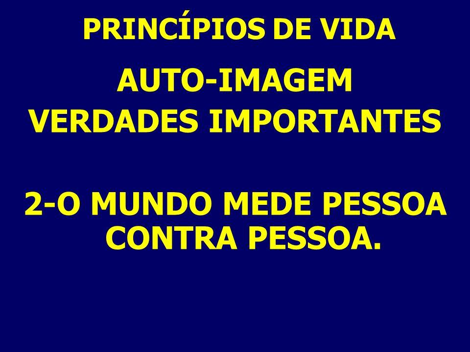 AUTO-IMAGEM EVIDÊNCIAS DE AUTO-REJEIÇÃO 6-AUTO-CRÍTICA. IS. 45:19