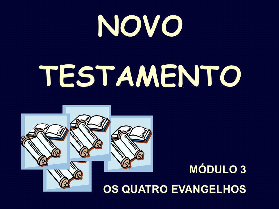 NOVO TESTAMENTO MÓDULO 3 OS QUATRO EVANGELHOS