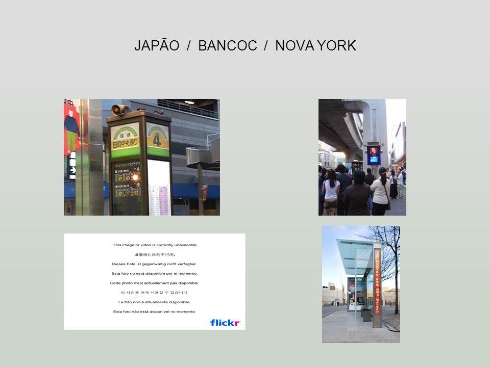 JAPÃO / BANCOC / NOVA YORK