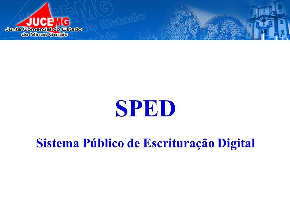 SPED Sistema Público de Escrituração Digital